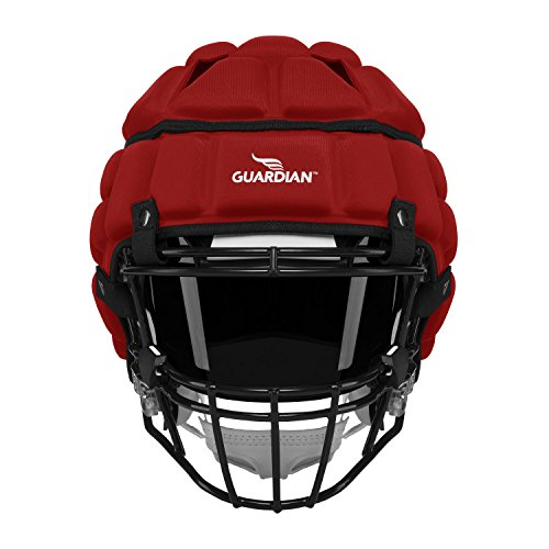 Guardian Protective Helmet Cover (Red) (Red Lacrosse Helmet Accessories)