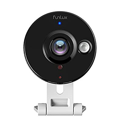 Funlux® Mini WiFi 720P HD - Wireless IP Surveillance Camera - Two Way Audio Home Security Camera - 115 Degree Wide Viewing Angle - Plug & Play