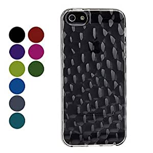 Dots Design Soft Case for iPhone 5/5S --- COLOR:Rose