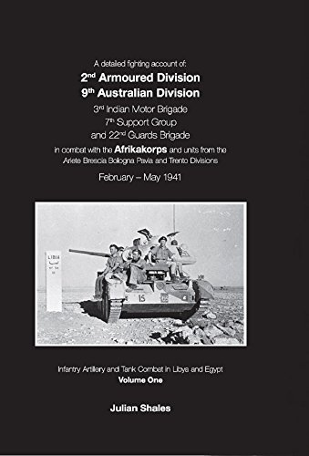 Infantry Combat Vehicle - A Detailed Fighting Account of: 2nd Armoured Division 9th Australian Division 3rd Indian Motor Brigade 7th Support Group and 22nd Guards Brigade in Artillery and Tank Combat in Libya and Egypt
