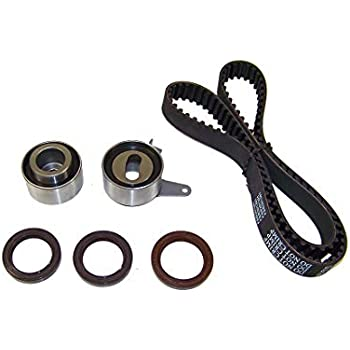 DOHC 16V Mazda//Protege 1589cc 1.6L L4 DNJ TBK434 Timing Belt Kit for 1999-2001