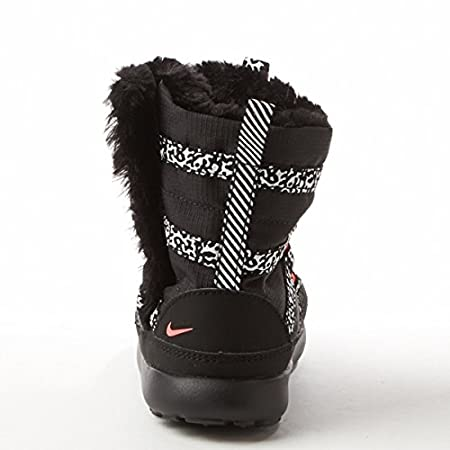 9828cdf876997 Amazon.com   Girls  Toddler Nike Roshe One Hi Sneakerboot (PTV) 654493-002  Black Pink   Sports   Outdoors