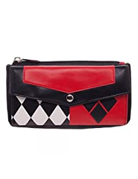 Officially Licensed Ladies DC Comics Harley Quinn Front Flat Purse