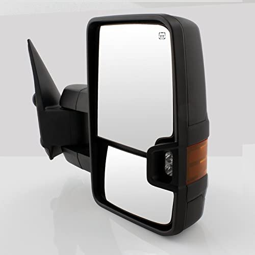 For 99-02 Chevy Siverado Pickup Truck Extendtable Towing Power Heated Side Mirrors Left Right Pair Set