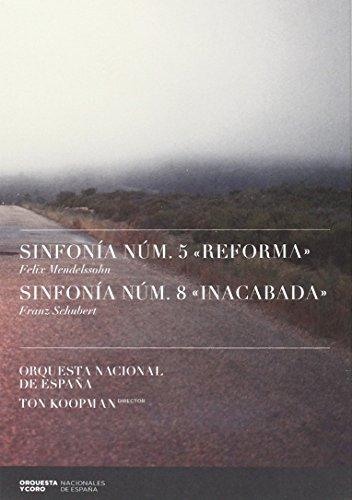 Mendelssohn: Sinfonía Nº 5; Schubert: Sinfonía Nº 8: Orquesta Nacional De Espana, Mendelssohn: Amazon.es: Música