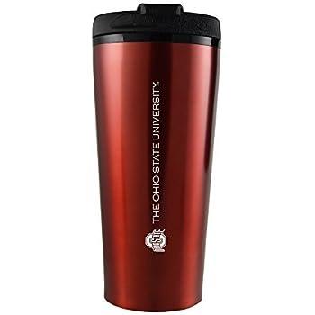 LXG Ohio State University Red 16-ounce Travel Mug Tumbler