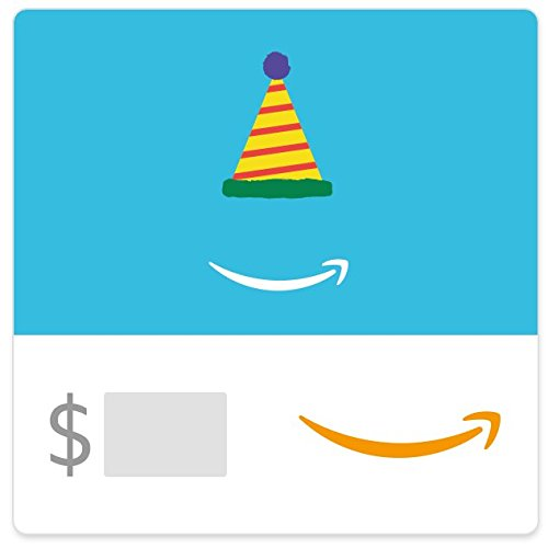 Amazon eGift Card - Birthday Hat