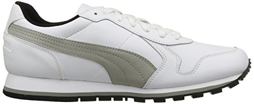 PumaSt Runner Full L - Zapatillas de Running Unisex adulto Bianco/Limestone Gray