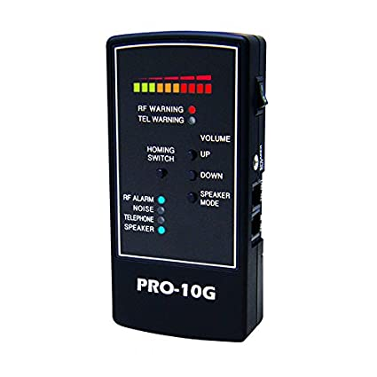 Spy-Hawk Security Products Pro-10G is The # 1 GPS Tracker Finder and  Law-Grade Counter Surveillance Bug Sweep - Newest Professional Handheld  Detection