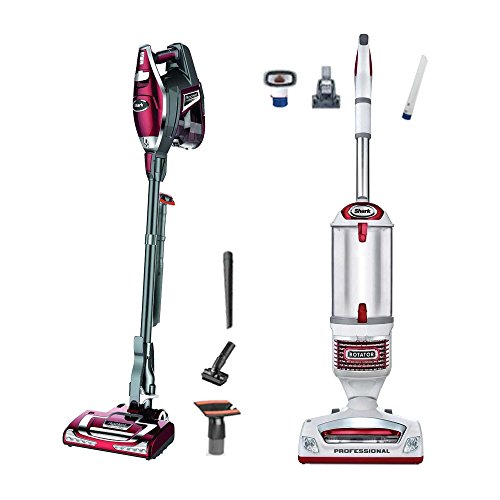 Shark Rocket Ultralight Vacuum + Rotator Lift-Away, Red (Certified Refurbished) (Shark Professional Floor Nozzle compare prices)