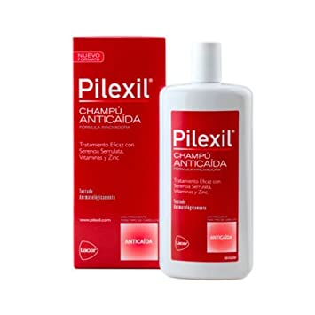 PILEXIL CHAMPU SHAMPOO ANTICAIDA 500ML - HAIR LOSS - ANTI QUEDA Hair Regrowth Treatments