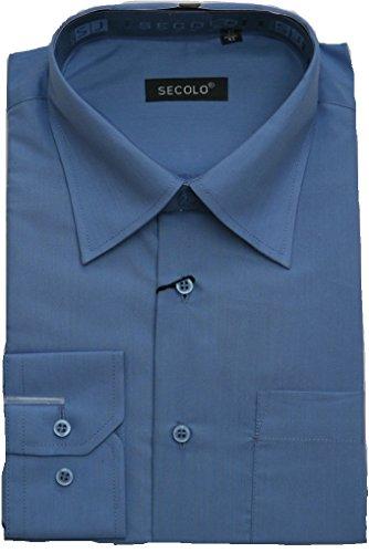 a9ca9a99a5399e Hemd Business Hochzeits Hemd Anzug Hemd 46, Blau -wiesbaden-kessler.de