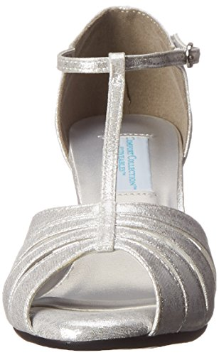 Brillo Dyeables Inc plateado Martina Dress Womens Sandal gPwZvg