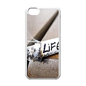 Protection Cover Hard Case Of Smoke Cell phone Case For Iphone 5C