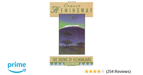 the snows of kilimanjaro summary