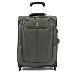 Sized to meet most international airline standards, the Maxlite 5 International Carry-On Expandable Rollaboard is happy on its own for short jaunts or a great carry-on companion to your checked bags. Compact, yet capable, this rolling suitcas...