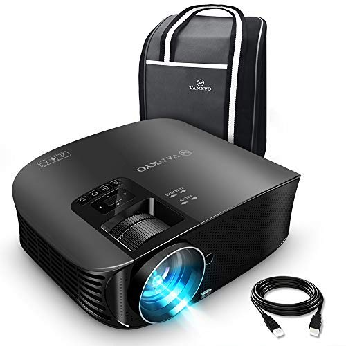 VANKYO Leisure 510 Full HD Projector with 3600 Lux, Video Projector with 200