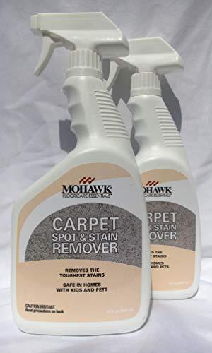 New Mohawk Carpet Spot & Stain Remover Spray Bottle 32 fl oz Pack of 2.