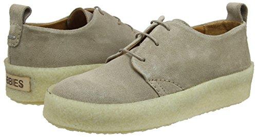 Shabbies beige Zapatos Amsterdam Schnürer De Derby Beige Cordones Mujer 3106 Para rrwzxn