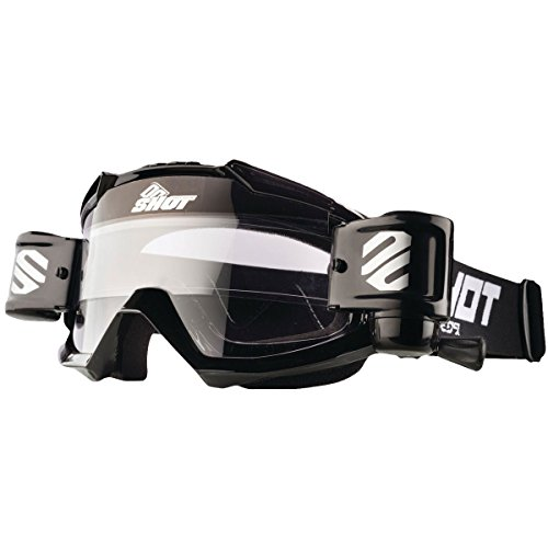 Shot Mens Assault Roll Off Off-Road Goggles - Black Glossy One Size (Roll Off Goggles)