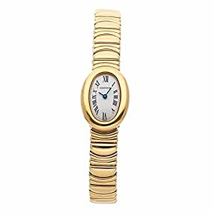 Cartier Baignoire Quartz Female Watch W15109D8 (Certified Pre-Owned)