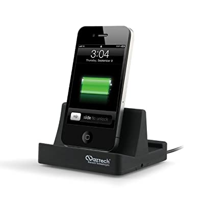 Naztech N8000-11656 Apple Certified MFi Charge and Sync Docking Station for all Apple Models iPhone, iPad, and iPod by Naztech