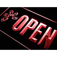 m104-r High Heel Shoes OPEN Shop Neon Light Sign