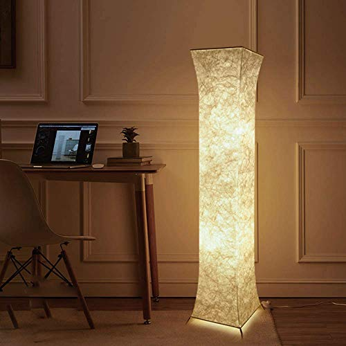 Modern Floor Lamp,Fy-Light 52 inch Contemporary Design Roman square column LED Floor Lamp for Living Room,Bedroom, Home, Office