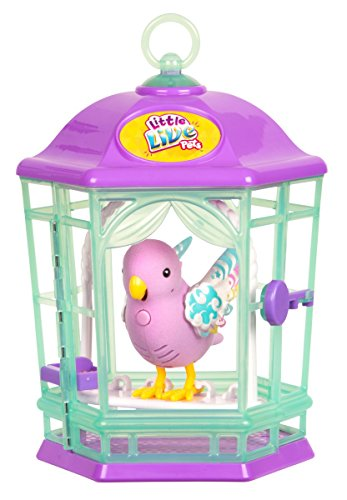 41sePkQZwzL - Little Live Pets Bird with Cage-Rainbow Glow Childrens Toy