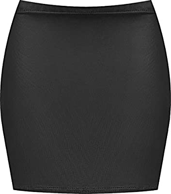 WearAll Women's Print Mini Skirt