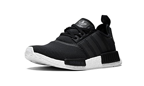 adidas NMD R1 Black Grey White Schwarz