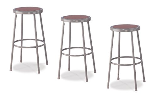 National Public Seating 6230-CN Steel Stool with 30