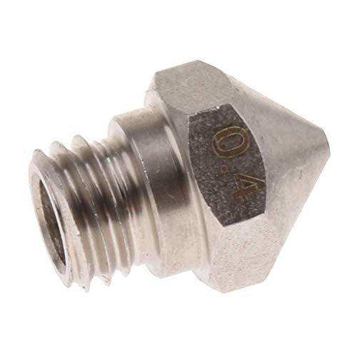 nouler Impresora Juler 3D Extrusora del Cabezal de impresión para boquillas de Acero Inoxidable y Resistentes al Desgaste...