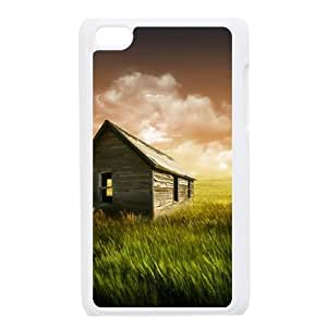 Thatched Ipod Touch 4 Case White