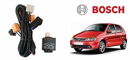 Bosch Car H4 Headlight Wiring Harness With Fuse Kit 276-Tata Indica on tata cars, tata vista, tata bouncers rentals, tata s monster,