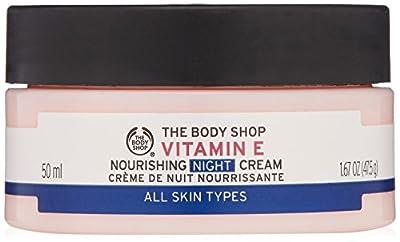 The Body Shop Vitamin E Nourishing Night Cream, 1.67-Ounce (Packaging May Vary)