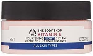 The Body Shop Vitamin E Nourishing Night Cream, 100% Vegan, 1.67 Oz.
