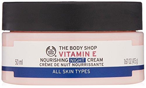 Nourishing Night Cream (The Body Shop Vitamin E Nourishing Night Cream, 1.7 Fl Oz)