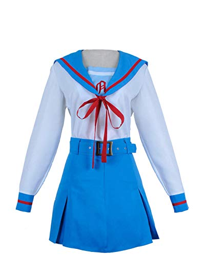 Suzumiya Haruhi Suzumiya Cosplay Costume Girl Uniform Dress Skirt Lovely
