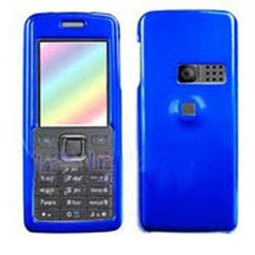 Hard Plastic Snap on Cover Fits Nokia 6300 6301 Solid Dark Blue T-Mobile (Please carefully check your device model to order the correct version.)