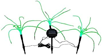 Amazoncom Wild Grass Solar Garden Lights 3 Sprigs of Green