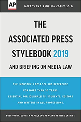Buy the associated press stylebook 2017: and briefing on media law.