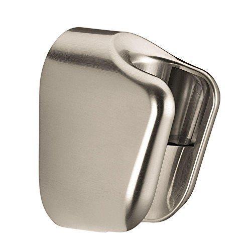 Hansgrohe 28321823 Porter E Hand Shower Holder, Brushed Nickel by Hansgrohe (Hansgrohe 28331000 Porter S Hand Shower Holder Chrome)
