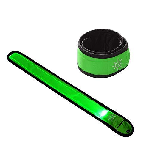 Gwill 2パックLED Slap Armband/LEDスナップonブレスレット高い可視性サイクリング/バイク/ウォーキング/ジョギング/ランニングギア   B07G74NSCT