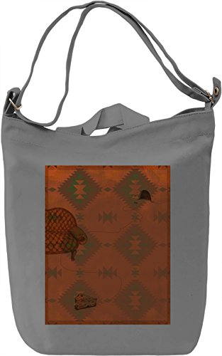 Surreal Print Borsa Giornaliera Canvas Canvas Day Bag| 100% Premium Cotton Canvas| DTG Printing|