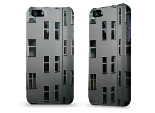"""Hülle / Case / Cover für iPhone 5 und 5s - """"Fensterfront"""""""