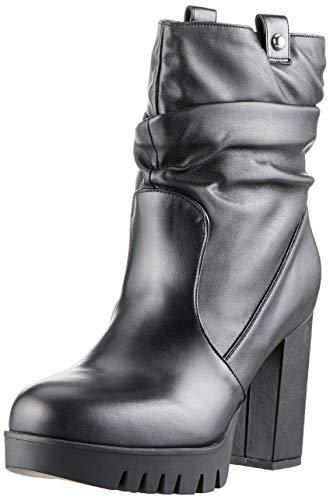 Fornarina Sneaker Collo Nero Donna Bea4 Alto bea4 Black A rqCwWrt5HF