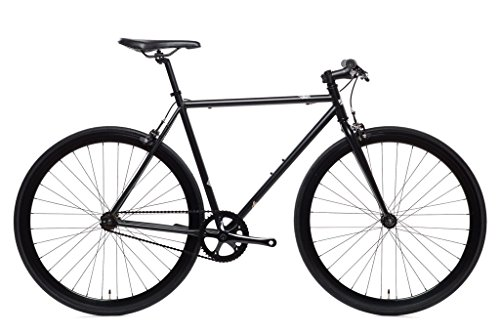Wulf Matte Black Core-Line State Bicycle | Fixie Single Sped Fixed Gear Bike - Wulf (Matte Black) Medium (54 cm) (Best States For Black Singles)