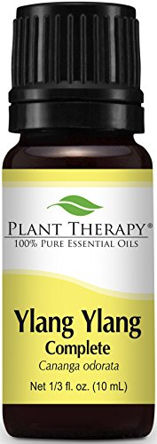 Plant Therapy Ylang Ylang Complete Essential Oil. 100% Pure, Undiluted, Therapeutic Grade. 10 ml (1/3 oz).