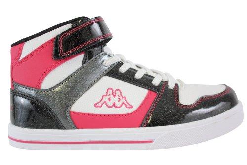 Kappa Jungen Fonc rose Blanc Sneaker noir FUCqrFnw